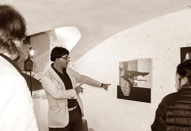 Prof Giorgio Grasso wystawa 10.10.2015 Savona (Italia)
