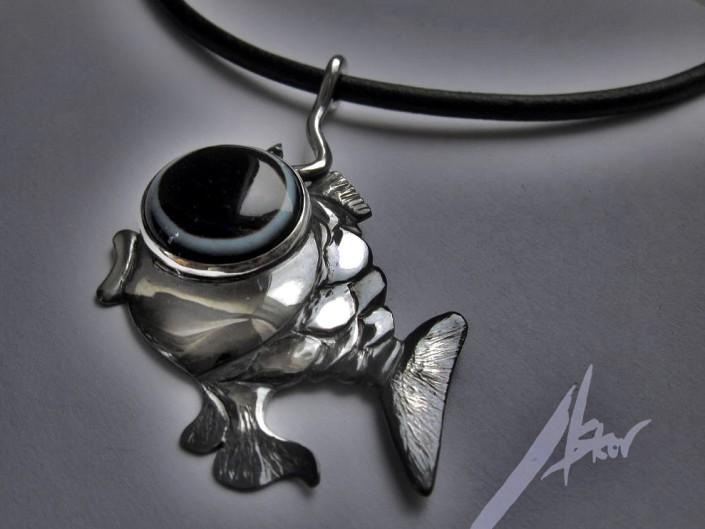 "Wisior ""ryba"""